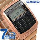 カシオ 腕時計 チープカシオ データバンク カリキュレーター CA-506C-5ADF CASIO ピンクゴールド チプカシ