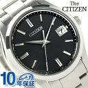 ザ・シチズン スタンダードモデル ソーラー メンズ AQ400051E THE CITIZEN ブラック 時計