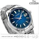 ザ・シチズン 3針デイト スタンダードモデル ソーラー AQ4000-51L THE CITIZEN 腕時計 ブルー