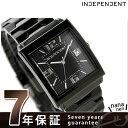 インディペンデント INDEPENDENT メンズ 腕時計 ニュースタンダード スクエアミニ オールブラック BQ1-042-51