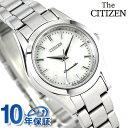 ザ・シチズン クオーツ レディース 腕時計 EB4000-69W THE CITIZEN ホワイトシェル