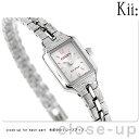シチズン キー ソーラー スクエア メタルバンド 腕時計 EG2040-55A CITIZEN Kii シルバー【あす楽対応】