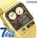 シチズン 腕時計 クロノグラフ 温度計 ゴールド アナログ ...