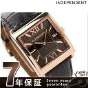 インディペンデント 腕時計 メンズ クラシックストラップ ブラウン カーフレザー INDEPENDENT BQ1-069-90