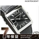 インディペンデント 腕時計 メンズ クラシックストラップ ブラック カーフレザー INDEPENDENT BQ1-115-50
