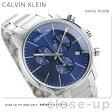 ck カルバンクライン シティ クロノグラフ メンズ 腕時計 K2G2714N ブルー【あす楽対応】