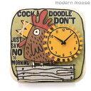 クロック モダンムース 掛時計 雄鶏 バルトバーチ木材 modern moose PC028 時計
