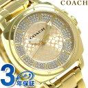 コーチ ボーイフレンド ミニ クオーツ メンズ 腕時計 14501994 ゴールド 【あす楽対応】
