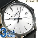 コーチ メトロポリタン クオーツ メンズ 腕時計 14602096 COACH シルバー×ブラック【あす楽対応】