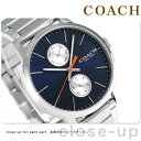 コーチ メトロポリタン クオーツ メンズ 腕時計 14602098 COACH ネイビー