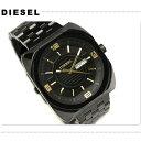 カジュアルウォッチ ディーゼル 【DIESEL】 アナログ DZ-1211DIESEL ディーゼル メンズ 腕時計 オールブラック DZ1211