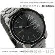 DZ1371 ディーゼル メンズ 腕時計 オールブラック DIESEL