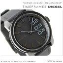 DZ1446 ディーゼル メンズ 腕時計 ラバーベルト オールブラック DIESEL