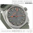 DZ1634 ディーゼル SC2コレクション クオーツ メンズ 腕時計 DIESEL ブラック×グリーン ナイロンベルト