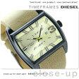 DZ1703 ディーゼル メンズ 腕時計 フルタンク クオーツ ゴールド×ライトブラウン DIESEL【あす楽対応】