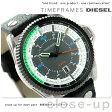 DZ1717 ディーゼル メンズ 腕時計 ロールケージ クオーツ ブラック DIESEL