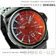 DZ1720 ディーゼル メンズ 腕時計 ロールケージ クオーツ オールブラック DIESEL