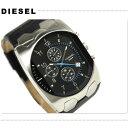 カジュアルウォッチ ディーゼル 【DIESEL】 アナログ DZ-4154DIESEL ディーゼル メンズ クロノグラフ 腕時計 DZ4154 ブラックレザー×ブラック