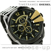 DZ4338 ディーゼル メガ チーフ クロノグラフ メンズ 腕時計 DIESEL クオーツ オールブラック【あす楽対応】