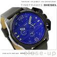 DZ4364 ディーゼル メンズ 腕時計 アイアンサイド ブラック×ダークブラウン DIESEL【あす楽対応】