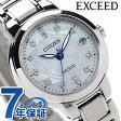 シチズン エクシード 電波ソーラー レディース 腕時計 ES8100-62W CITIZEN EXCEED チタニウムコレクション マザーオブパール
