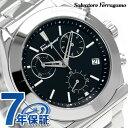 フェラガモ 1898 クロノグラフ スイス製 クオーツ メンズ FH6010016 Ferragamo 腕時計 ブラック 時計【あす楽対応】