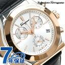 フェラガモ 1898 42mm クロノグラフ メンズ 腕時計...