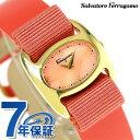 フェラガモ ヴァリナ ダイヤモンド レディース 腕時計 FIE020015 Salvatore Ferragamo オレンジ×ピンク