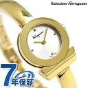 フェラガモ ガンチーニ ブレスレット スイス製 腕時計 FQ5040013 Salvatore Ferragamo シルバー×ゴールド 時計【あす楽対応】