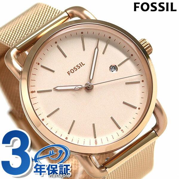 フォッシル ザ コミューター 34mm レディース 腕時計 ES4333 FOSSIL ピンク【あす楽対応】