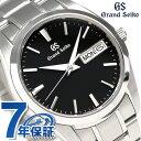 グランドセイコー 9Fクオーツ 37mm メンズ 腕時計 SBGT237 GRAND SEIKO ブラック 時計