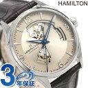 【今ならポイント最大26倍】 ハミルトン 腕時計 メンズ ジャズマスター オープンハート 42mm 自動巻き H32705521 HAMILTON 革ベルト 時..