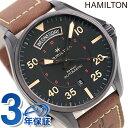 H64605531 ハミルトン HAMILTON カーキ パイロット 自動巻き メンズ 腕時計 革ベルト 時計【あす楽対応】