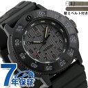 ルミノックス ネイビーシールズ 3000シリーズ 43mm クオーツ メンズ 腕時計 3001.EVO.Z.SET LUMINOX オールブラック 黒【あす楽対応】