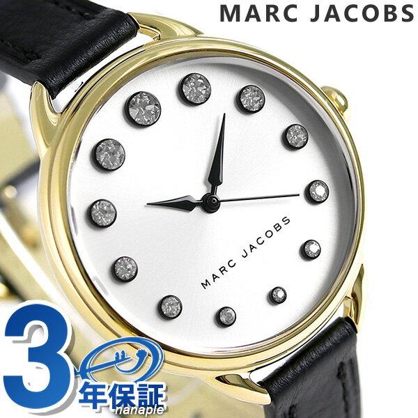 マークジェイコブス 時計 ベティ 36 クオーツ レディース MJ1479 MARC JACOBS 腕時計 シルバー×ブラック