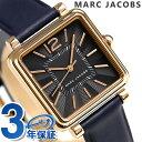 マーク ジェイコブス ヴィク 30 クオーツ メンズ MJ1523 MARC JACOBS 腕時計 ブラック【あす楽対応】