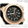 マイケル コース ディラン クロノグラフ メンズ 腕時計 MK8184 MICHAEL KORS ブラック【あす楽対応】