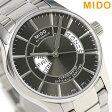 MIDO ミドー ベルーナ 40MM 自動巻き メンズ 腕時計 M001.431.11.061.02 グレーシルバー