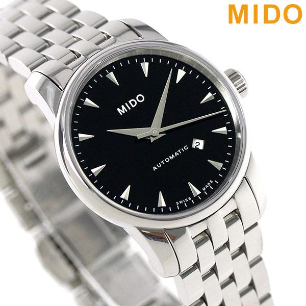 MIDO ミドー バロンチェッリ 29MM 自動巻き レディース M7600.4.18.1 腕時計 ブラック [新品][2年保証][送料無料]