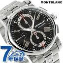 モンブラン スター 41810 クロノグラフ 自動巻き メンズ 102376 MONTBLANC 腕時計 ブラック