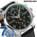 モンブラン タイム ウォーカー クロノグラフ 自動巻き 105077 MONTBLANC 腕時計 ブラック
