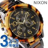 ニクソン A037679 nixon ニクソン 42-20 腕時計 オールブラック/トートイズ【多針アナログ表示】【あす楽対応】