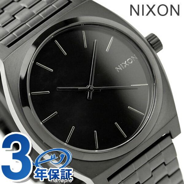 ニクソン A045001 nixon ニクソン 腕時計 タイムテラー オールブラック【あす楽対応】
