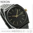 ニクソン A0451041 nixon ニクソン 腕時計 タイムテラー マットブラック/ゴールド【あす楽対応】