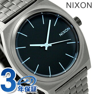 Nixon time teller p watch A045 gunmetal / Blue Crystal nixon A0451427