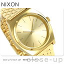 ニクソン A045511 nixon ニクソン 腕時計 タイムテラー オールゴールド【あす楽対応】