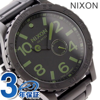 The 51-30 Nixon NIXON watch 51-30 THE matte black / surplus A0571042