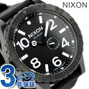 51-30 51-30 nixon Nixon watch THE TIDE A057 tide oar black nylon A0571148 [tomorrow easy correspondence]