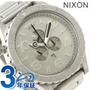 51-30 Nixon nixon Nixon watch THE CHRONO A083 Kurono oar low steel A0831033