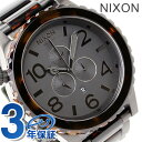 51-30 Nixon nixon Nixon watch THE CHRONO A083 Kurono mat black / dark Thoth is A0831061